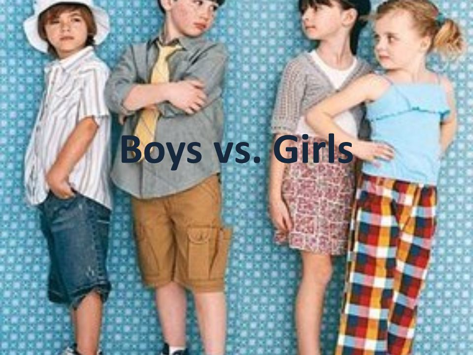 Is better to be a boy or a girl.