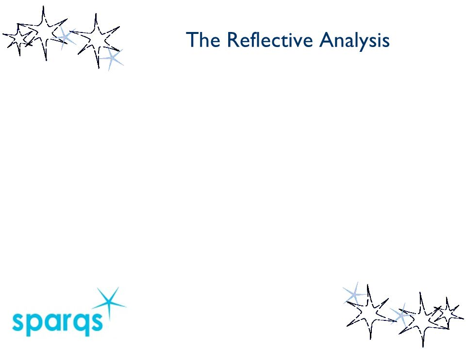 The Reflective Analysis