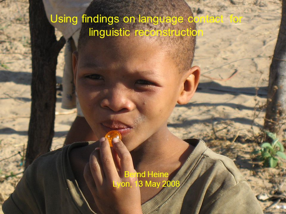 Chimwi:ni (Bantu, Niger-Congo; Abasheikh 1976: 12) Mu:saxad  a  -ile ru:hu- ye.
