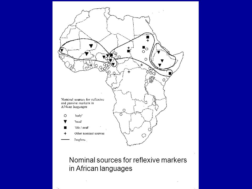 Nominal sources for reflexive markers in African languages