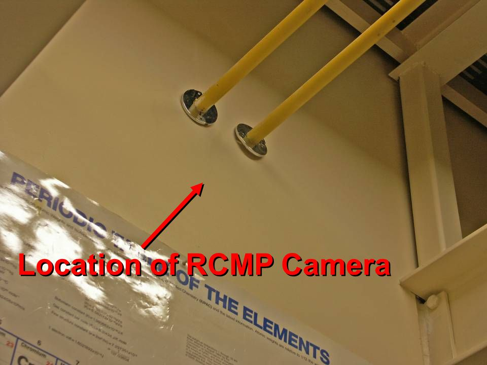 Location of RCMP Camera