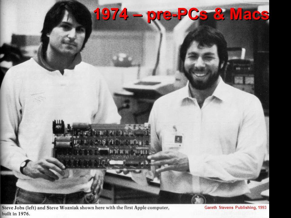 1974 – pre-PCs & Macs Gareth Stevens Publishing, 1993