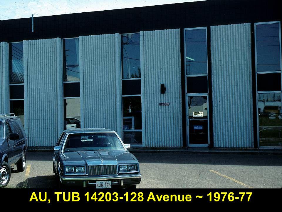 AU, TUB 14203-128 Avenue ~ 1976-77