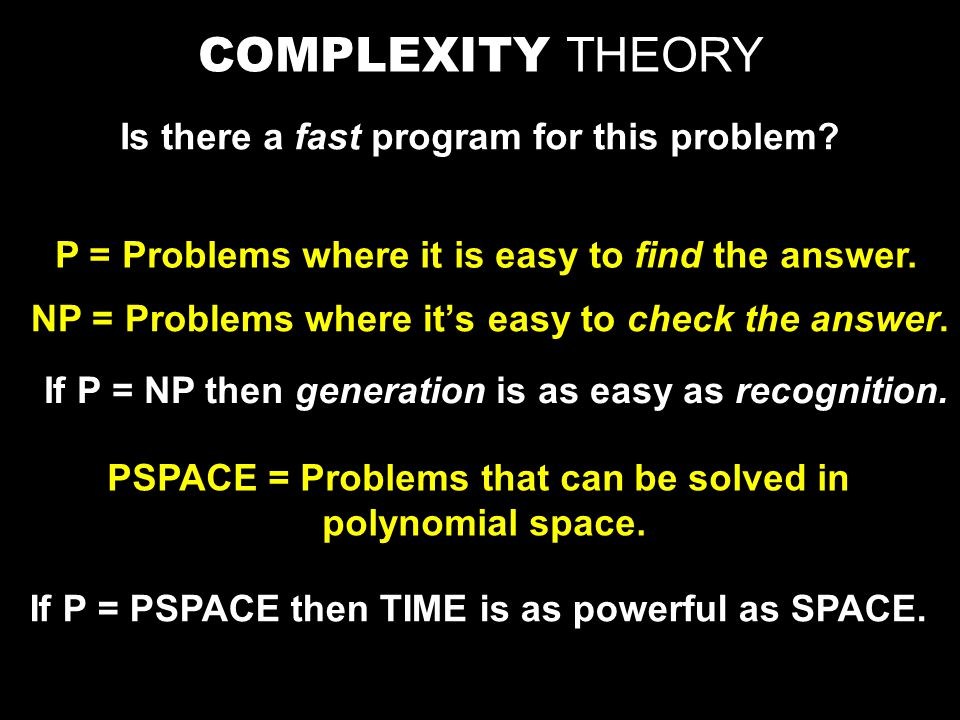 Claim: Every language A in PSPACE is polynomial time reducible to TQBF We build a poly-time reduction from A to TQBF The reduction turns a string w into a fully quantified Boolean formula  that is true iff M has an accepting computation on w.