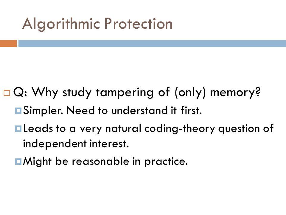 Bit-wise independent tampering: Proof  Case 1: n - t · q : Just samples Dec(c*).