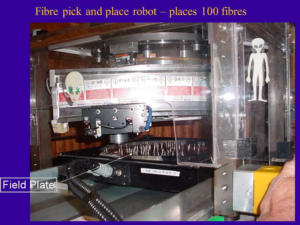 Fibre pick and place robot – places 100 fibres