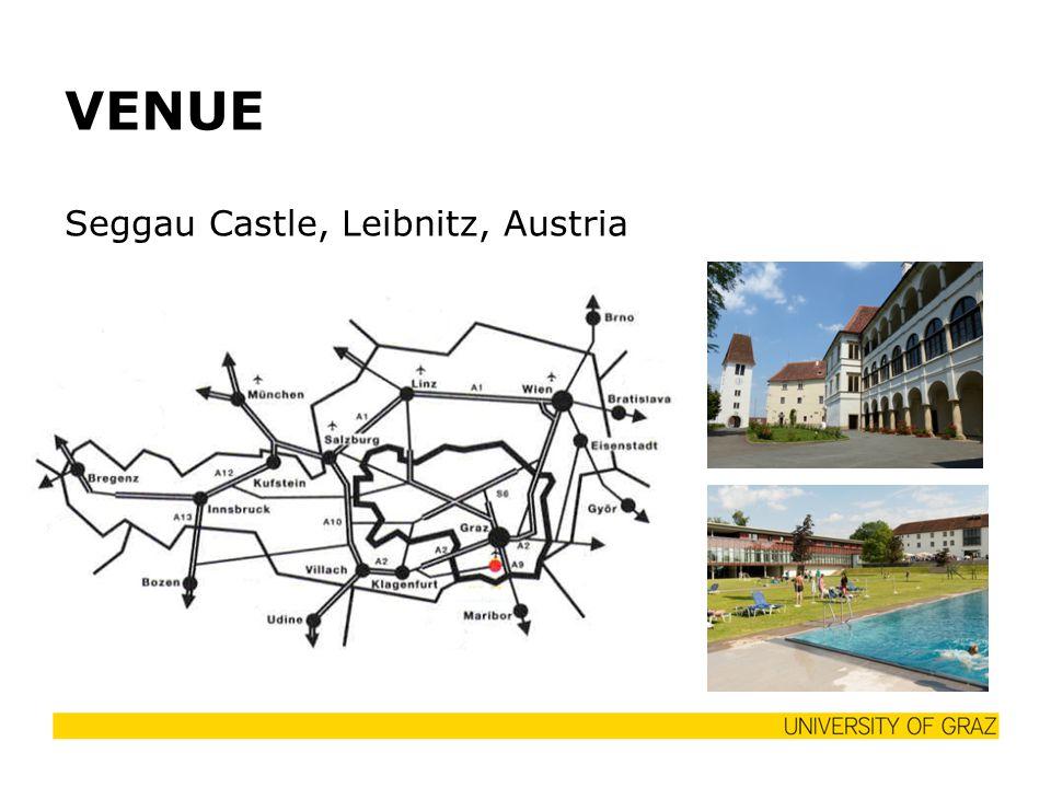 VENUE Seggau Castle, Leibnitz, Austria