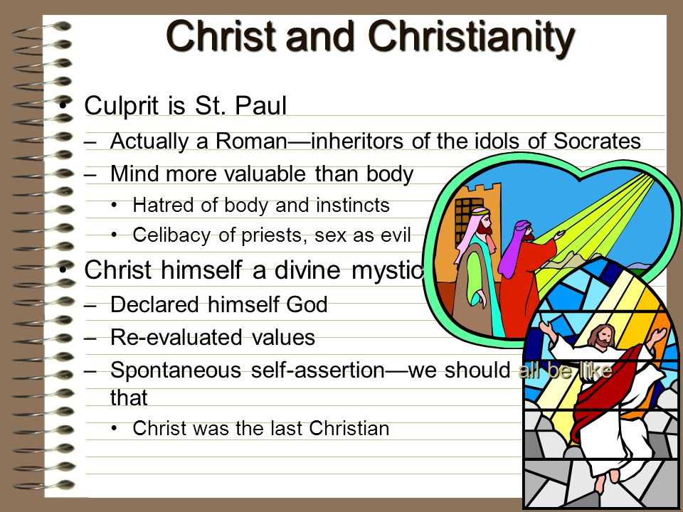 Christ and Christianity Culprit is St. PaulCulprit is St.