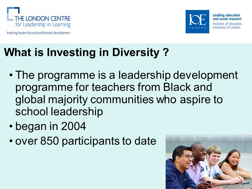 What is Investing in Diversity .