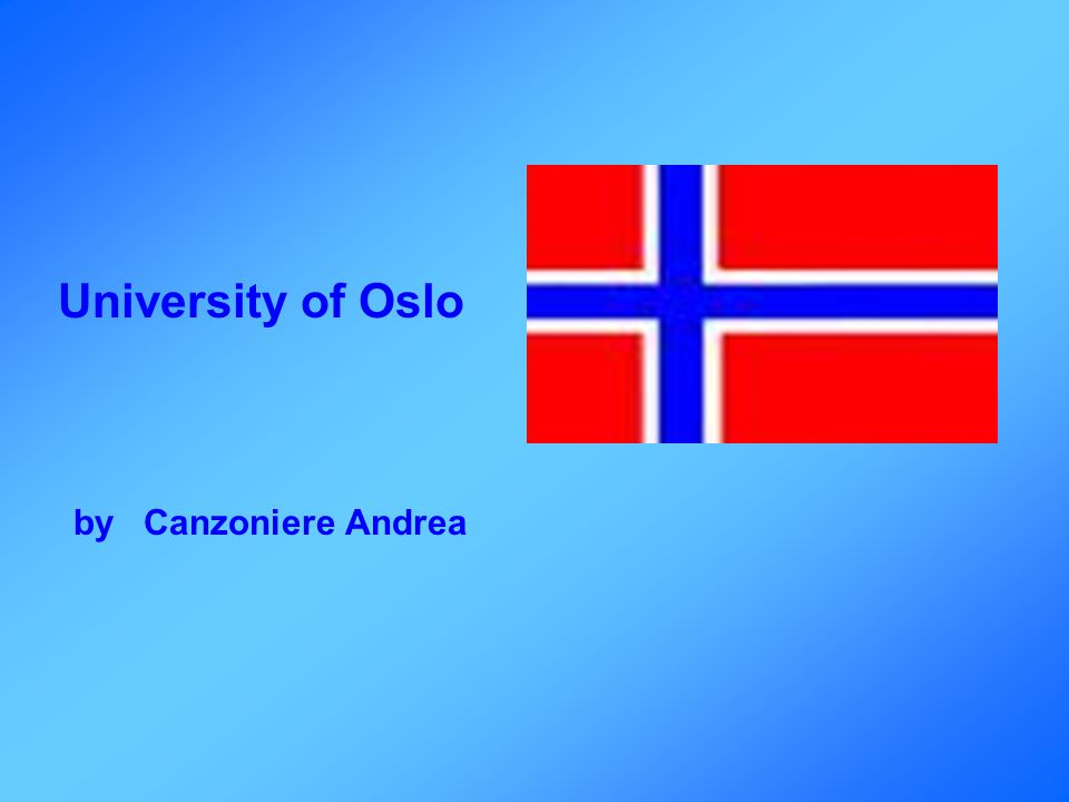 My personal experience I had a good time in Oslo because I faced another culture, that maybe from the Italian point of view could seem strange.