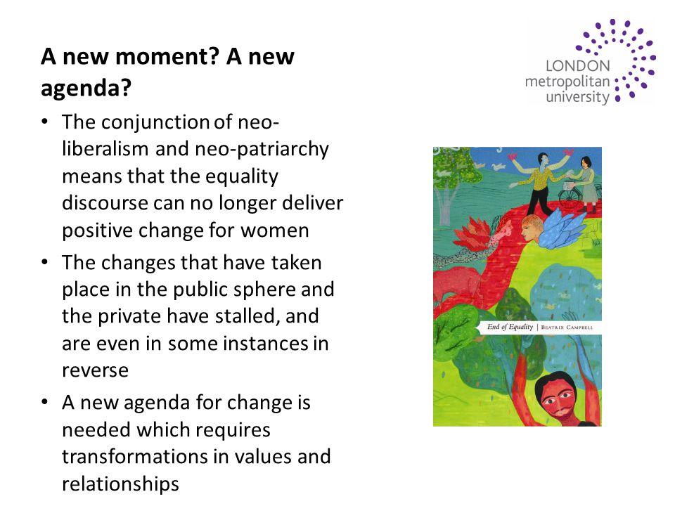 A new moment. A new agenda.