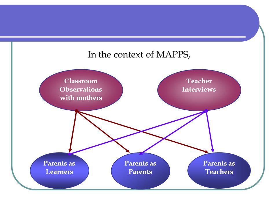 Parents as Parents Teacher's views: Parental involvement, Parents as a deficit or resource ???