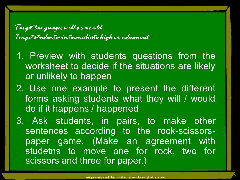 Free powerpoint template: www.brainybetty.com 64 4.