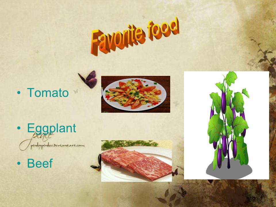 Tomato Eggplant Beef