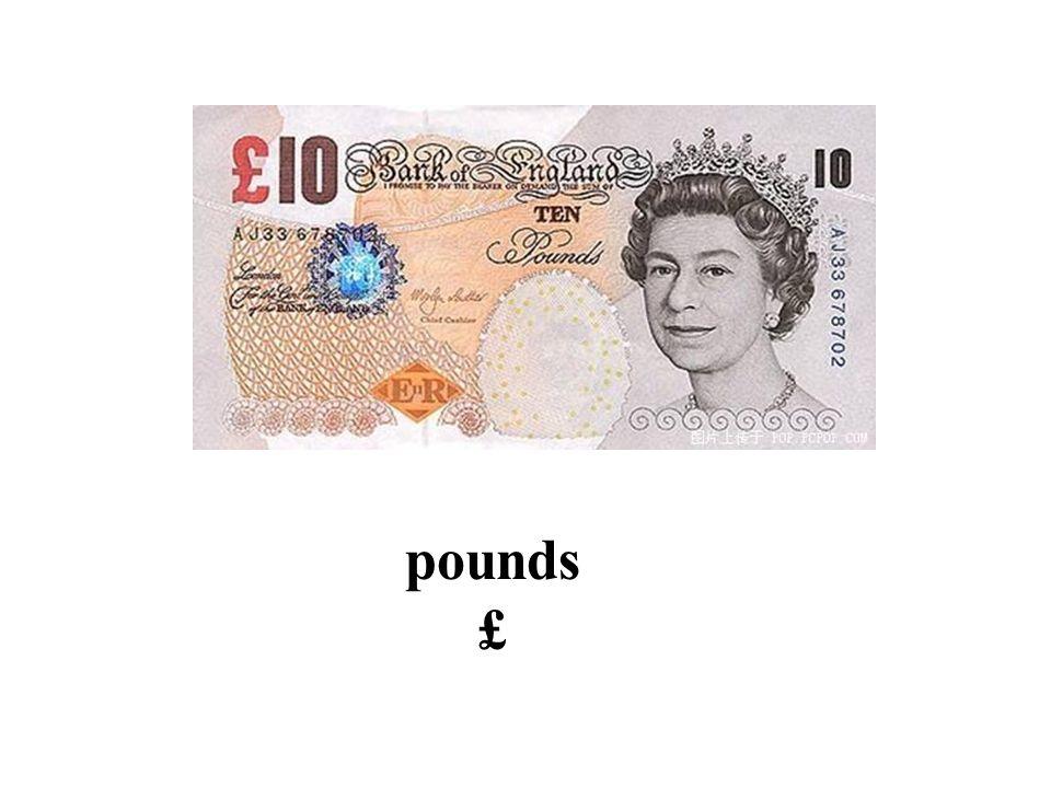 pounds £