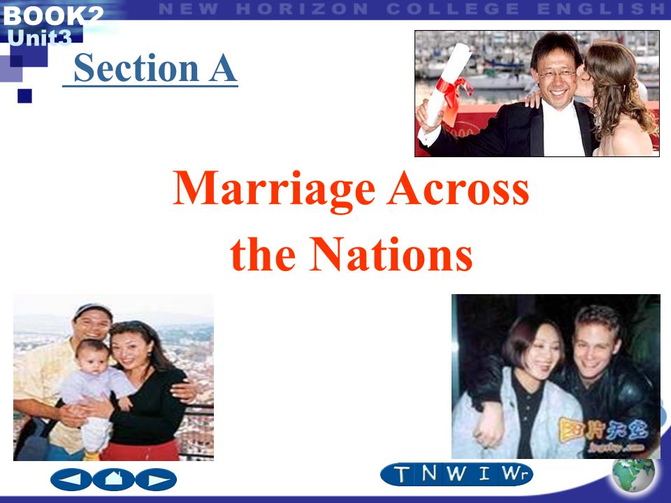 BOOK2 Unit3 Marriage Across the Nations Section A