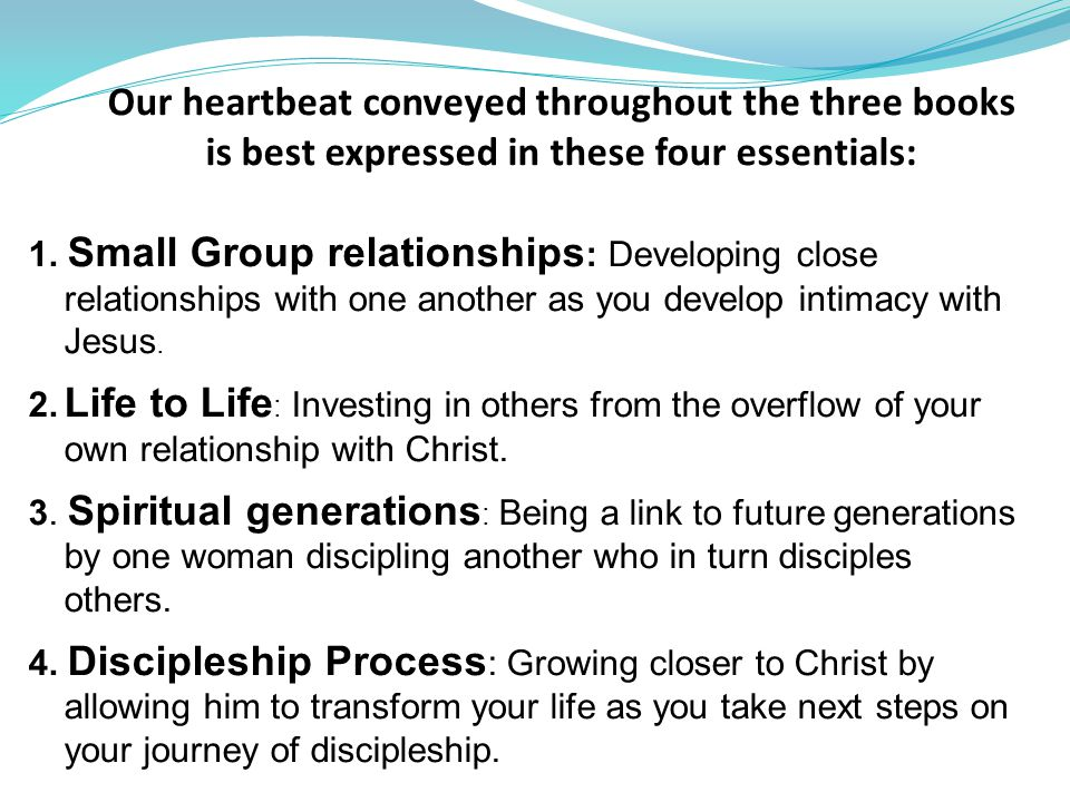 Bridges on the Journey Choosing an Intimate Relationship with Jesus