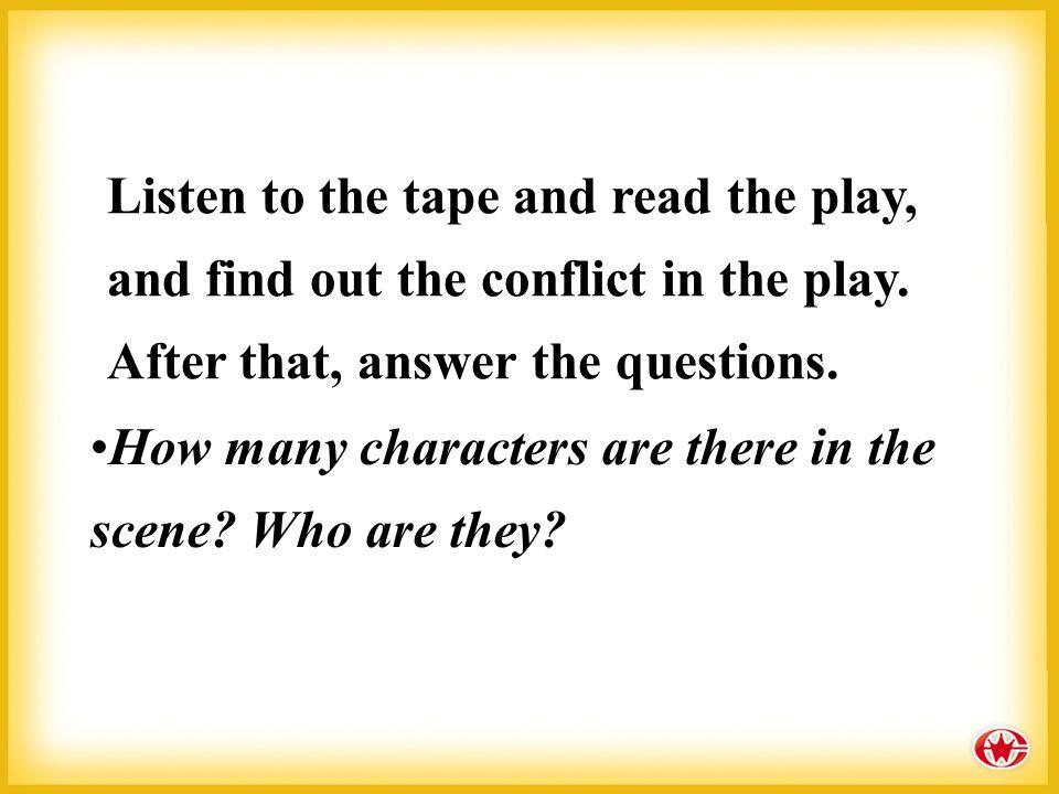 什么是戏剧语言? 戏剧语言包括人物语言和舞台说明。舞台说 明是写在剧本每一幕的开端,结尾和对话中 间的说明性的文字,内容包括人物表、时间、 地点、服装、道具、布景、以及人物的表情、 动作、上下场等,它具有增强舞台气氛,烘 托人物心情,展示人物性格,推动情节展开 等多种作用。