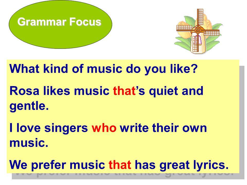 Who/that 在定语从句中作主语时,谓 语动词的单复数英语先行词保持一致。Who/that 在定语从句中作主语时,谓 语动词的单复数英语先行词保持一致。 E.g.