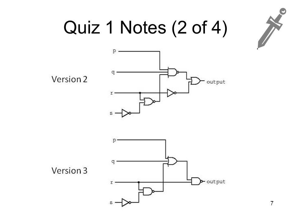 Quiz 1 Notes (2 of 4) 7
