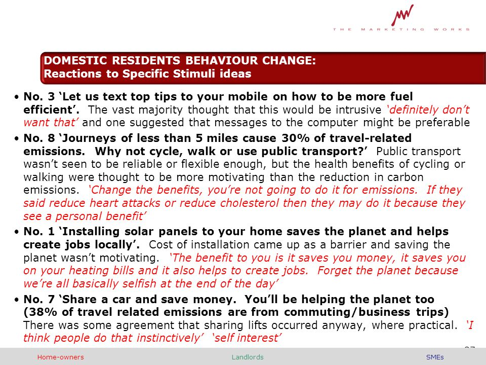 No. 3 'Let us text top tips to your mobile on how to be more fuel efficient'.