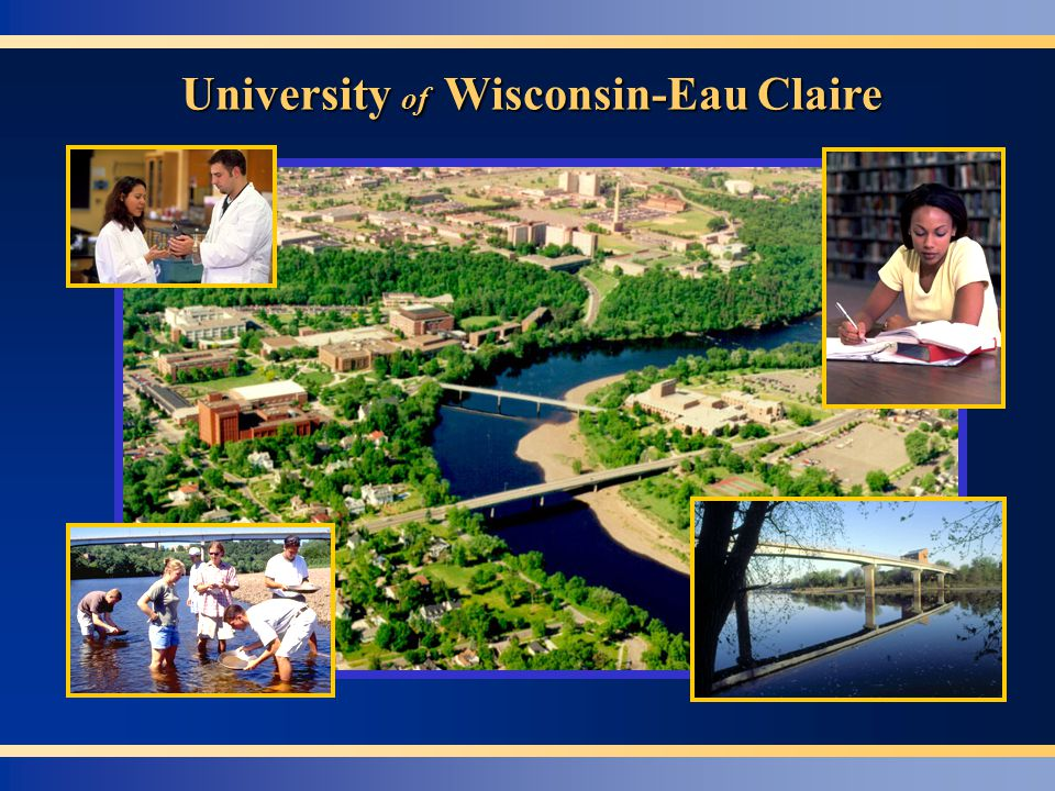 Focus on One of Our Marks of Excellence UW-Eau Claire's Center for Service-Learning Dr.