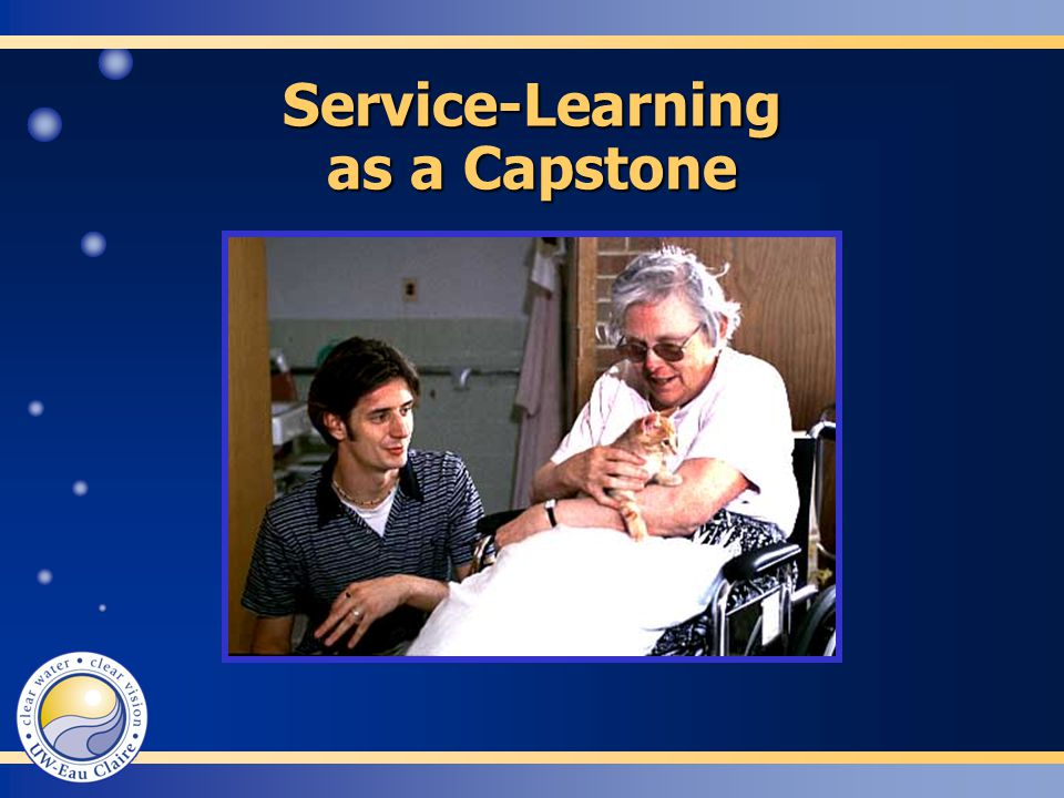 Service-Learning as a Capstone