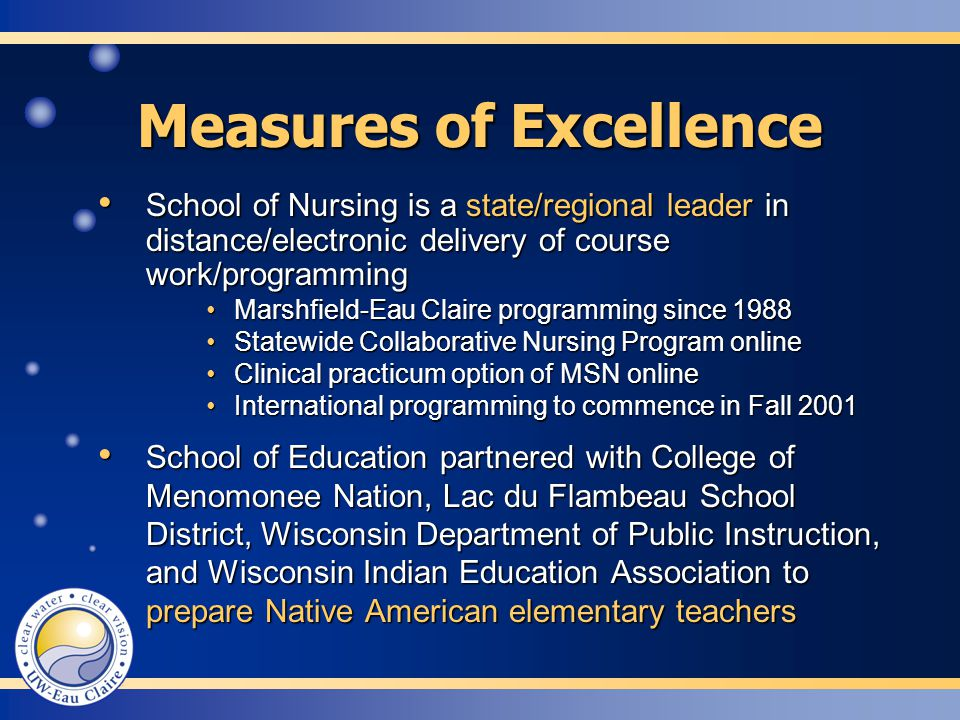 School of Education partnered with College of Menomonee Nation, Lac du Flambeau School District, Wisconsin Department of Public Instruction, and Wisco