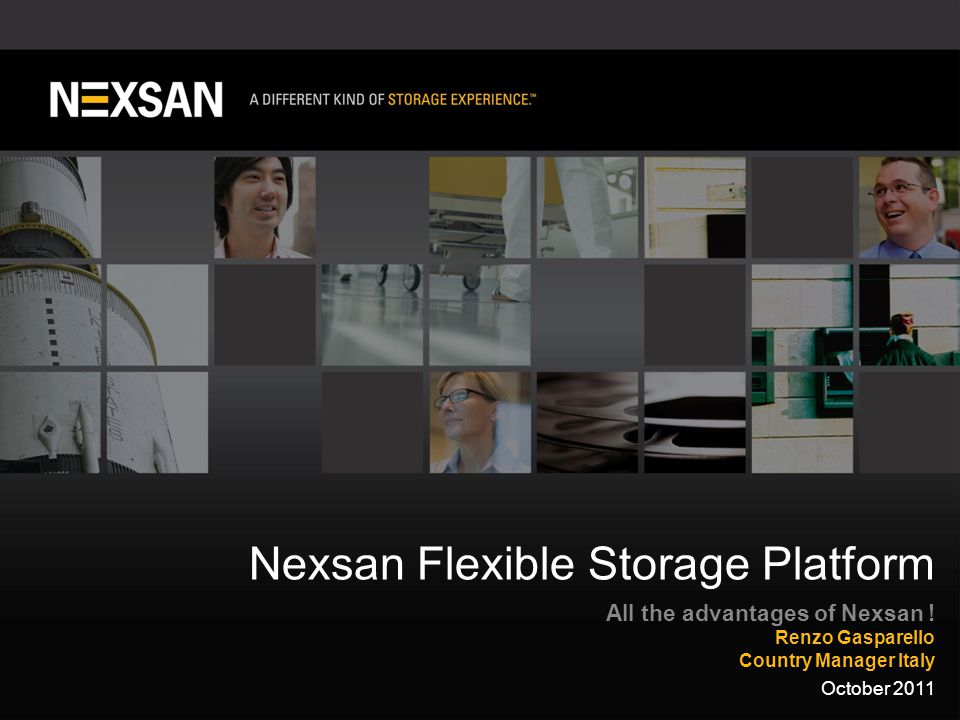 1 ©2011 Nexsan Corporation. All Rights Reserved.