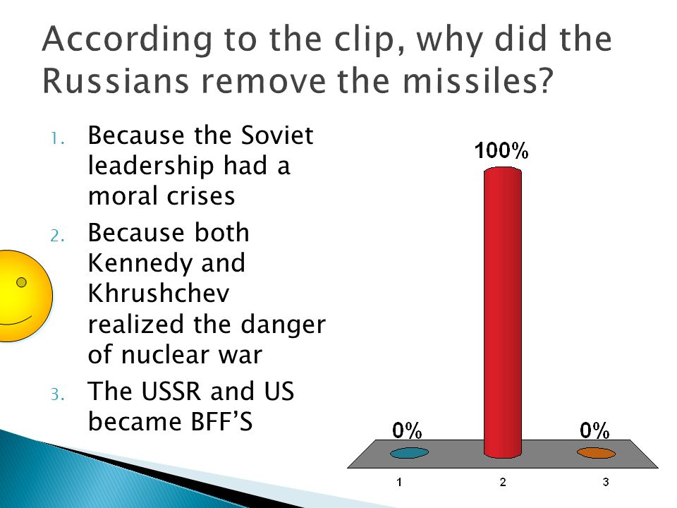 1. Because the Soviet leadership had a moral crises 2.
