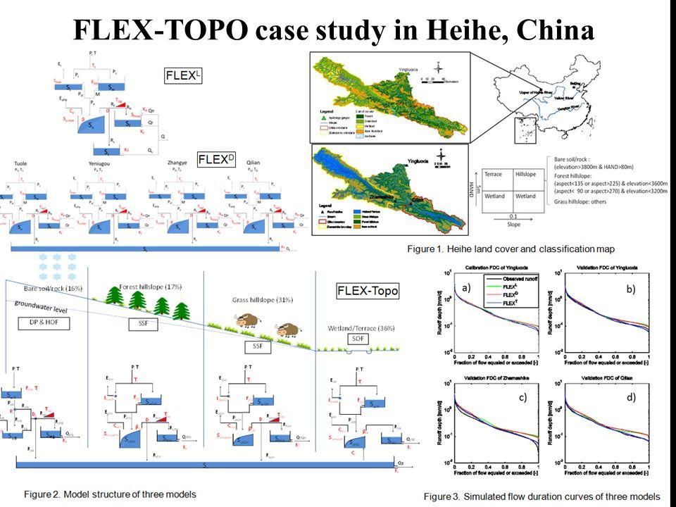 FLEX-TOPO case study in Heihe, China