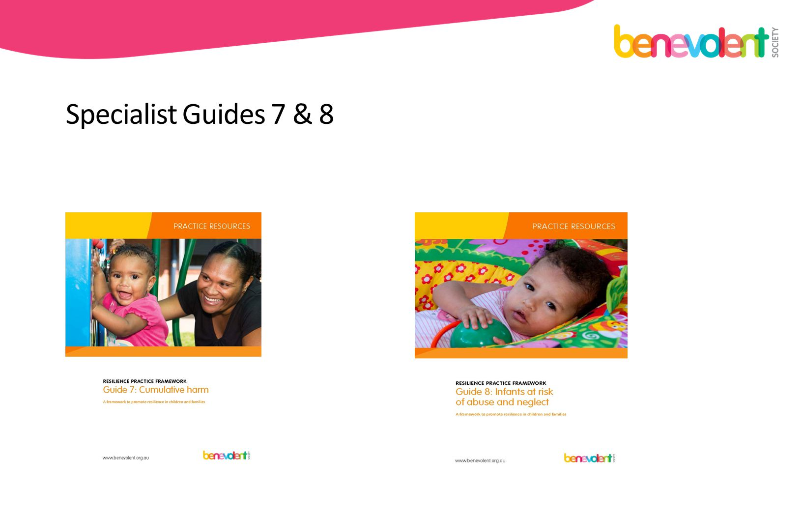 Specialist Guides 7 & 8