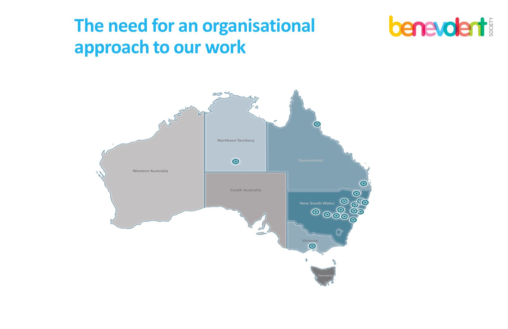 The need for an organisational approach to our work