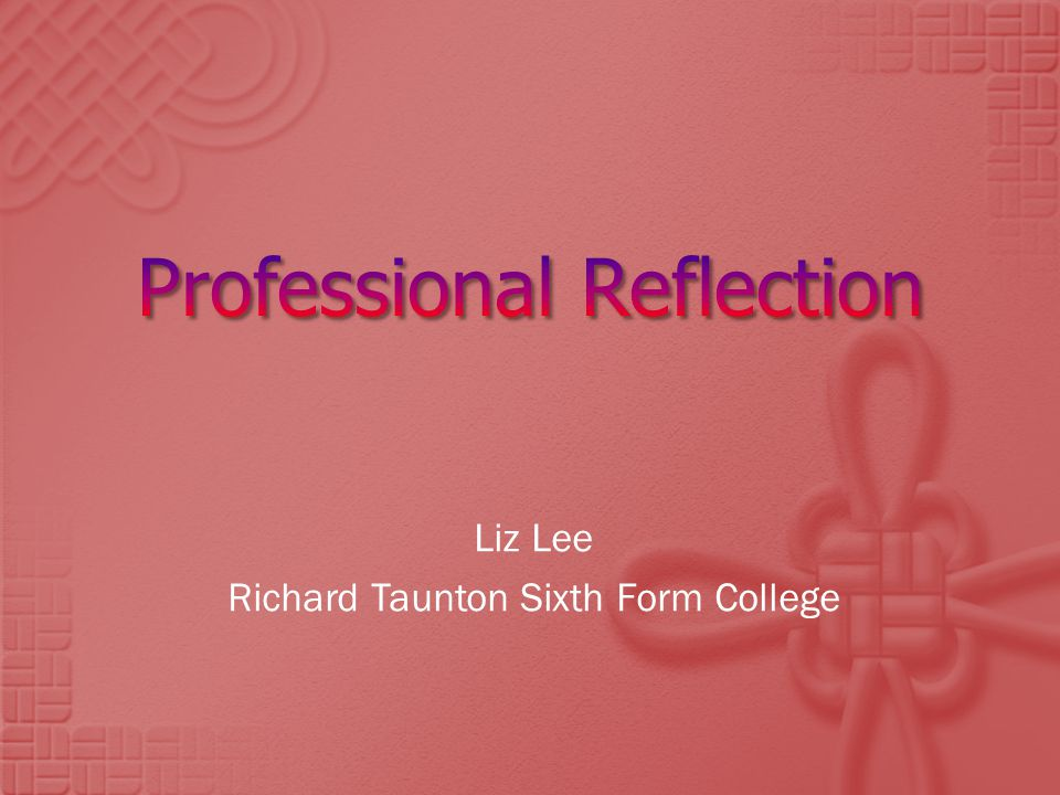 Liz Lee Richard Taunton Sixth Form College