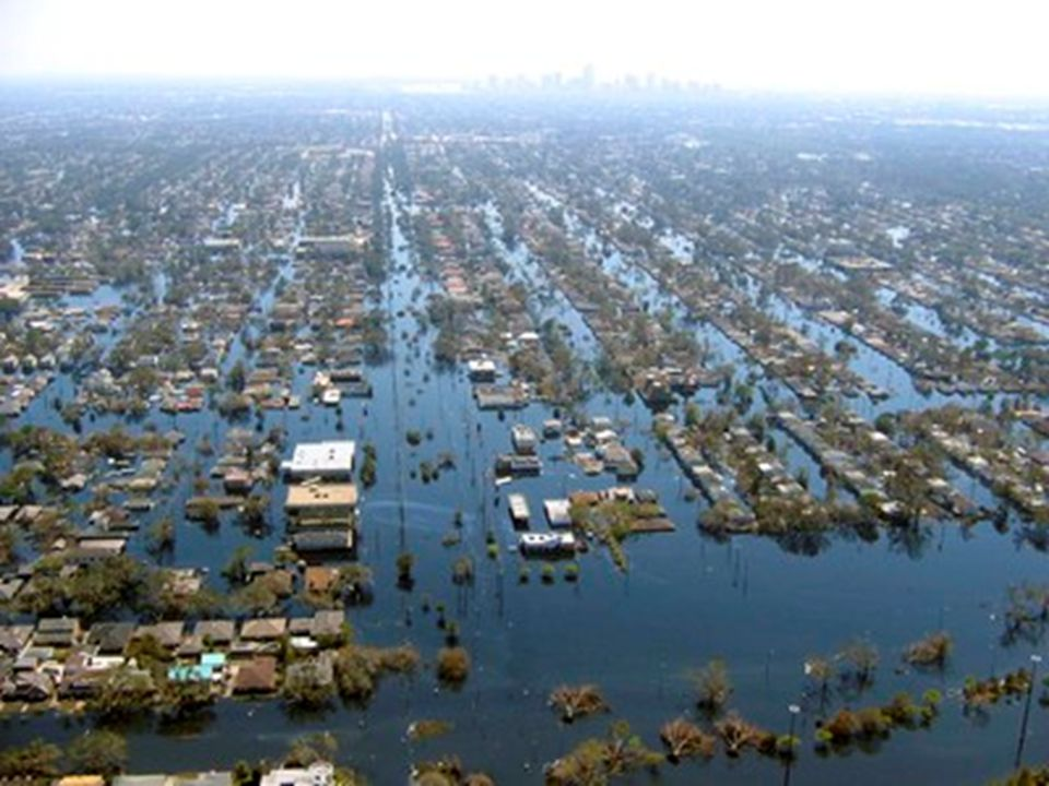 Advantages of Our Sample  Most studies of disasters do not have data on people before the disaster.