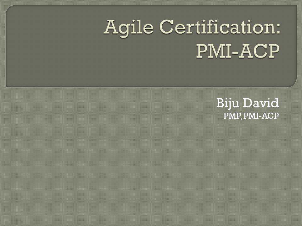 Biju David PMP, PMI-ACP