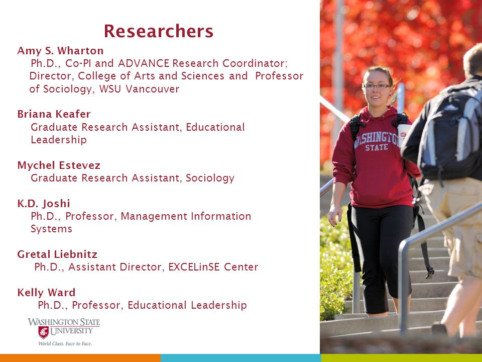 Researchers Amy S.