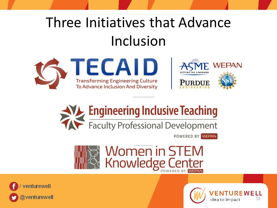 Three Initiatives that Advance Inclusion 15