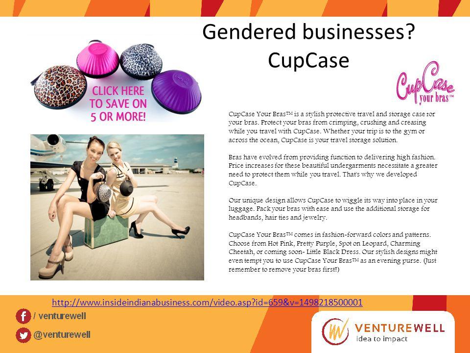 Gendered businesses.