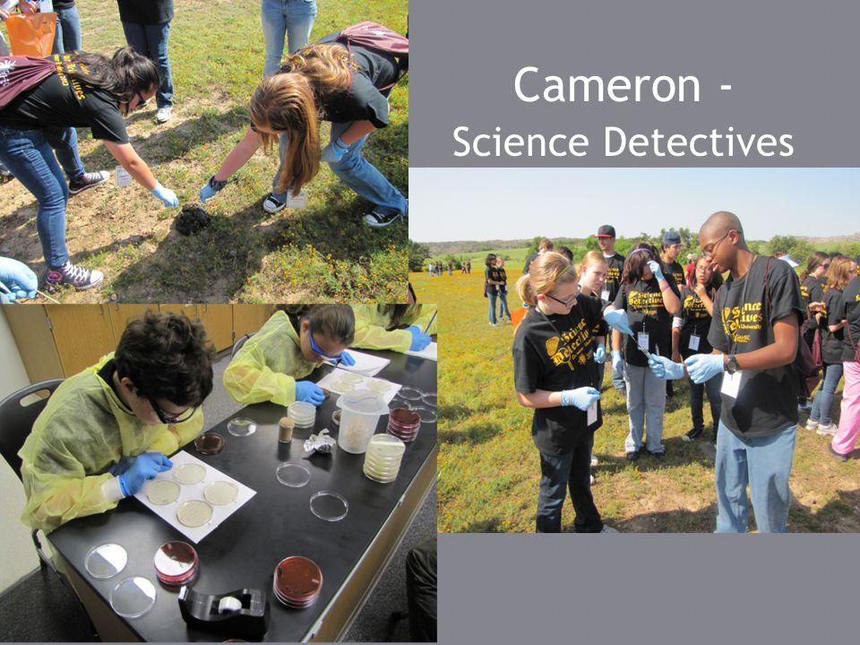 Cameron - Science Detectives