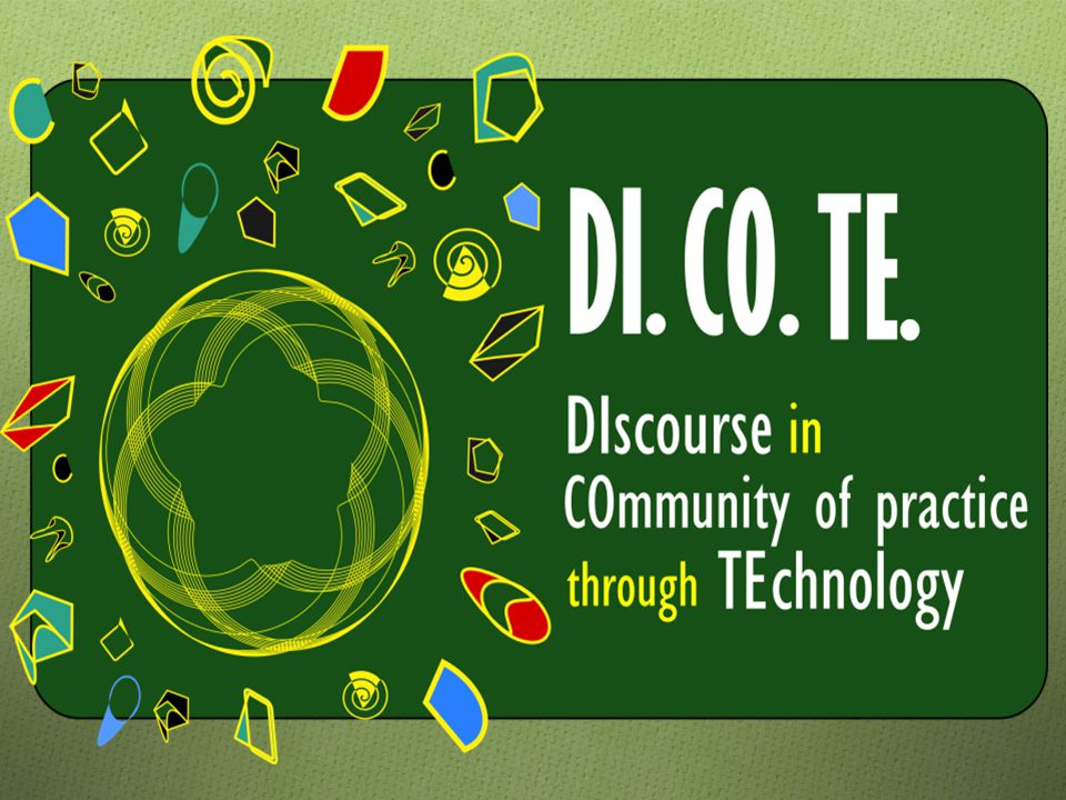 DICOTE Objectives 2 This objective addresses the analysis of the impact of the implementation of ICT in enterprises to create a cooperative culture.