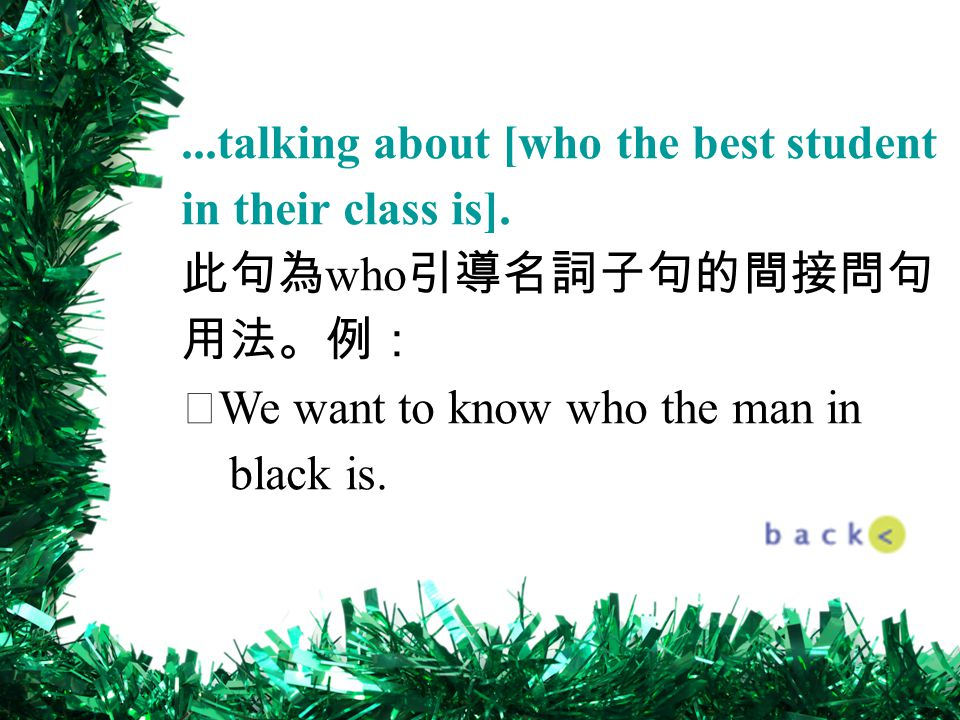 ...talking about [who the best student in their class is].
