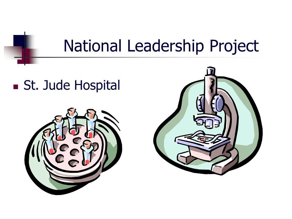 National Leadership Project St. Jude Hospital