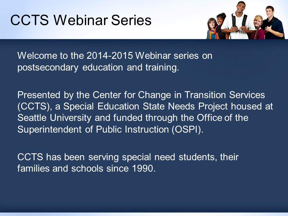 Specific Learning Disabilities Student to self-identify to gain accommodations from campus DSO.