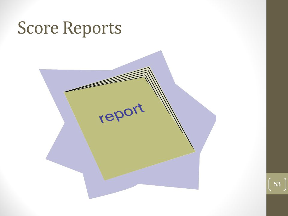 Score Reports 53