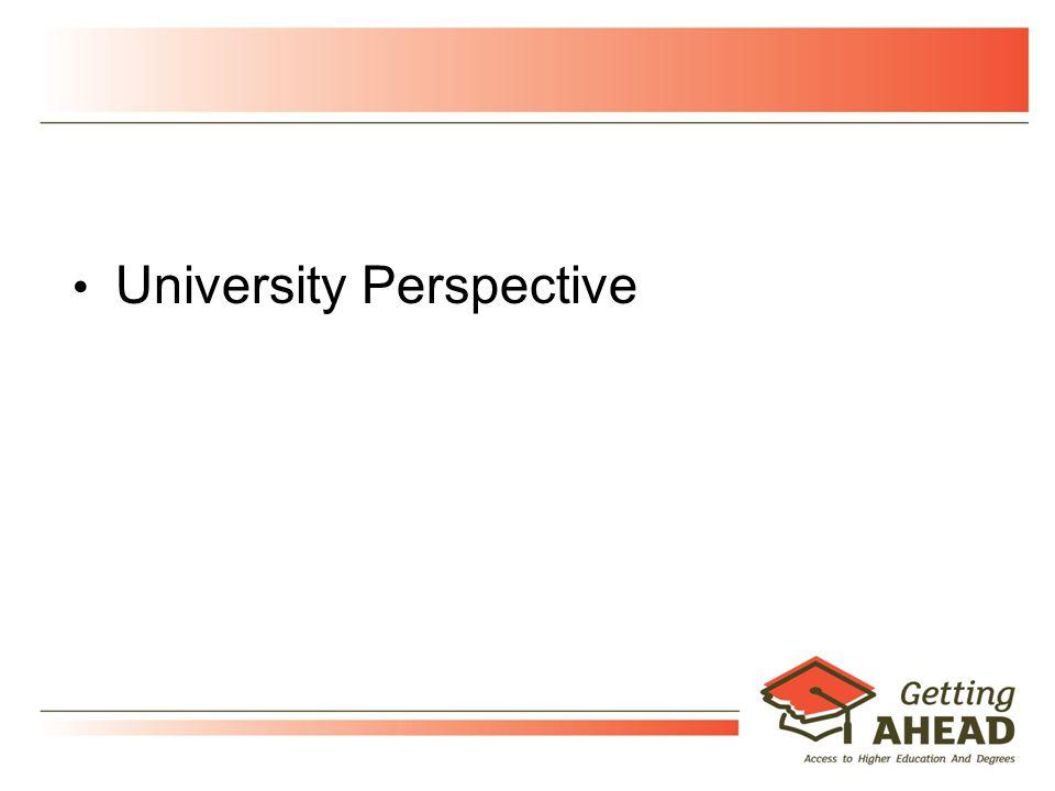 9 University Perspective