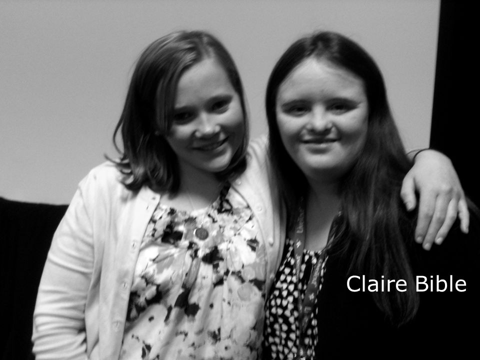Hart and Weir, 2010 Claire Bible
