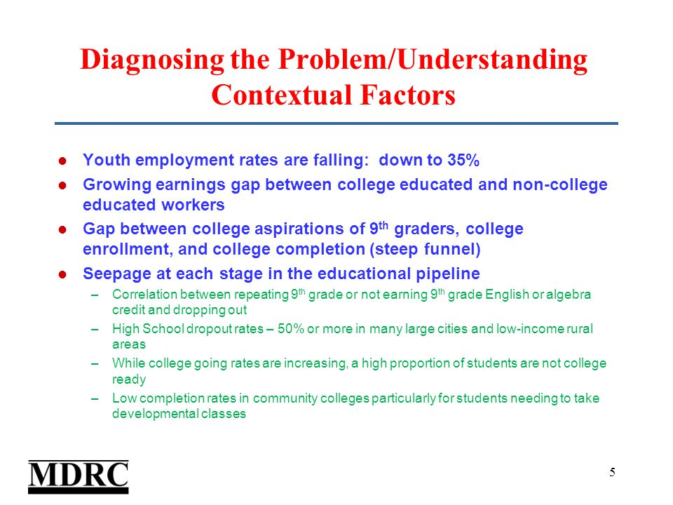 Impact of Learning Communities on Students' College Experience ** ** *