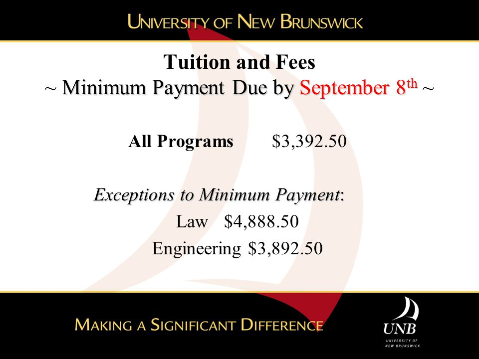 Government of New Brunswick Timely Completion Benefit Eligibility Requirements Graduate from a publically funded post-secondary institution.