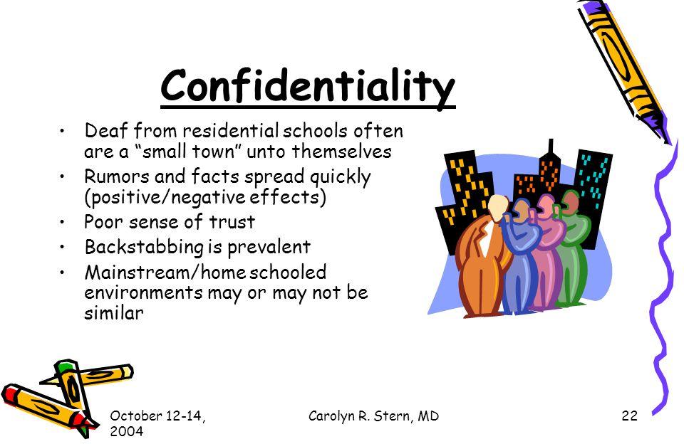 October 12-14, 2004 Carolyn R.